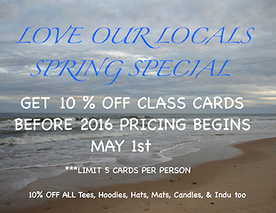 Love our locals spring special
