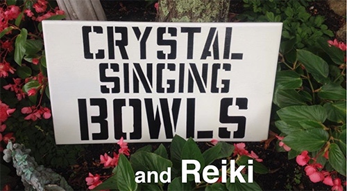 Crystal Singing Bowls and Reiki
