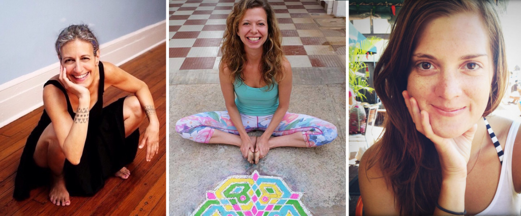 Barbara Verrochi co-owner and yoga teacher at Shala Yoga House in NYC teaching at Yoga Lila Montauk