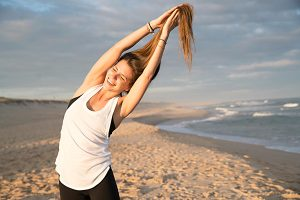 Stretch classes with Jessy Nees at Yoga Lila Montauk