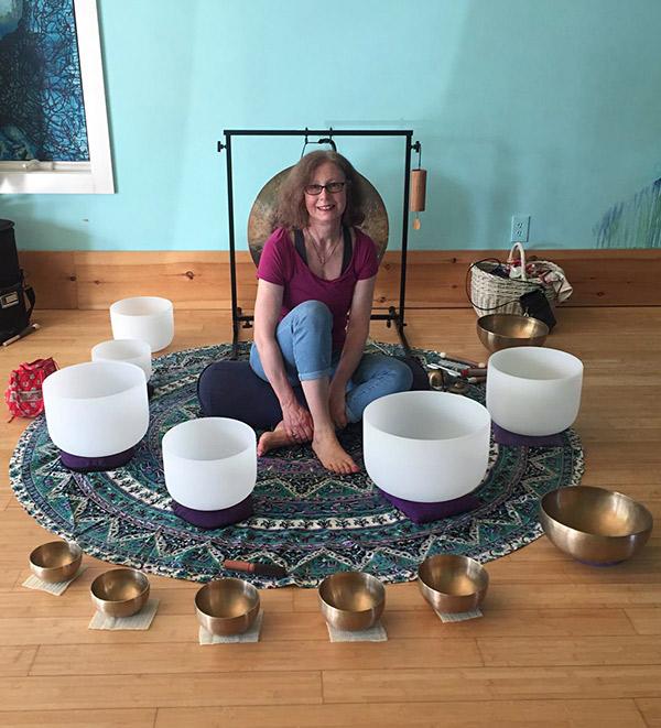 Maria Maier's sound journey in montauk, ny